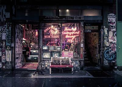 Underground Photographs