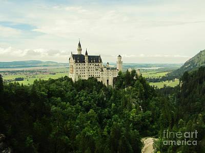 Photograph - Neuschwanstein, Castle by Jurgen Huibers