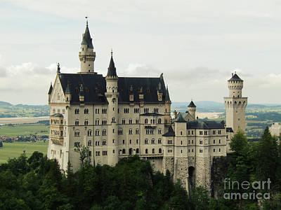 Photograph - Neuschwanstein Castle by Jurgen Huibers