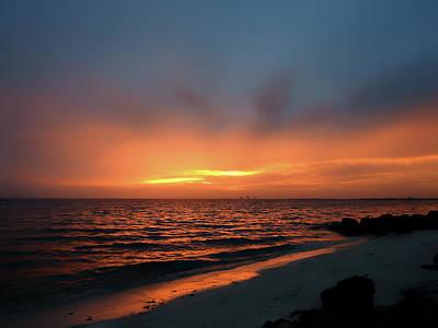 Photograph - Anna Maria Sunrise by Robert Stanhope