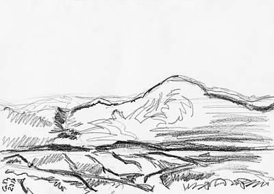 Drawing - Croagh Patrick by Catherine Considine
