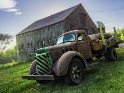 Log Truck Photographs