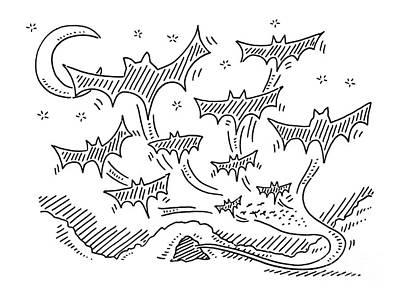Flock Drawings