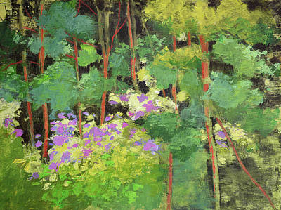 Painting - Forest Flowers by Melody Cleary