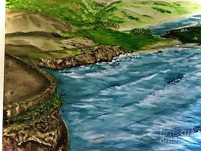 Painting - Overview of Hurricane Point by Michael Silbaugh