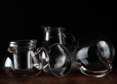 Photograph - Recipientes de cristal by Eduardo Mendez