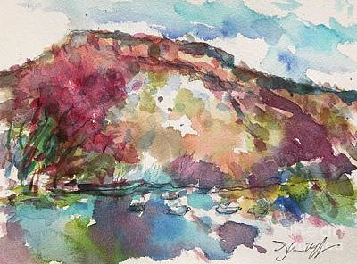 Painting - Rio Grande by Glen Neff