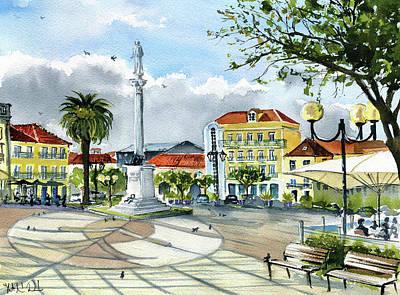 Town Centre Original Artwork