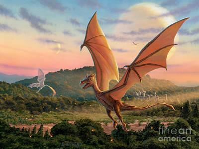Dragonflight Paintings