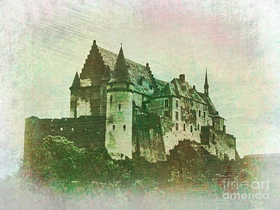 Photograph - Vianden Castle  by Jurgen Huibers
