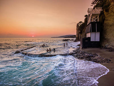 Photograph - Laguna Beach Victoria Sunset by Seascaping Photography