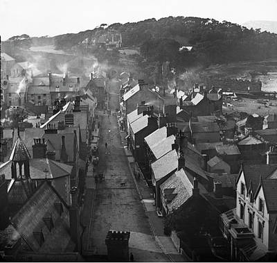 Photograph - Conwy from The Castle 1890 by Graham Harding