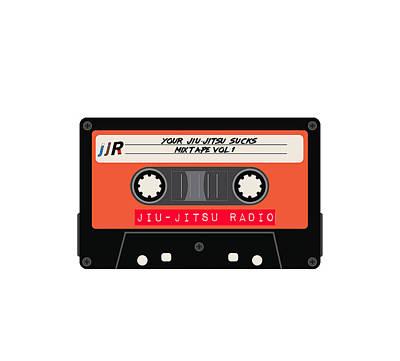 Tapestry - Textile - Jiu-Jitsu Radio Mix Tape by Alexis Terrosa