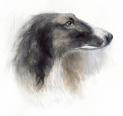 Watercolor Pet Portraits Art