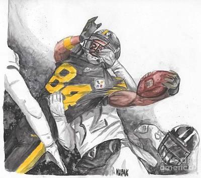 Football Antonio Brown Original Artwork