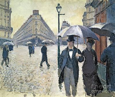 French Street Scene Art