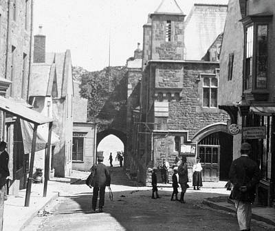 Photograph - Conwy High St C1890 by Graham Harding