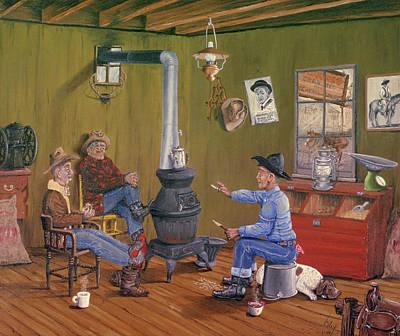 Wood Grain Paintings