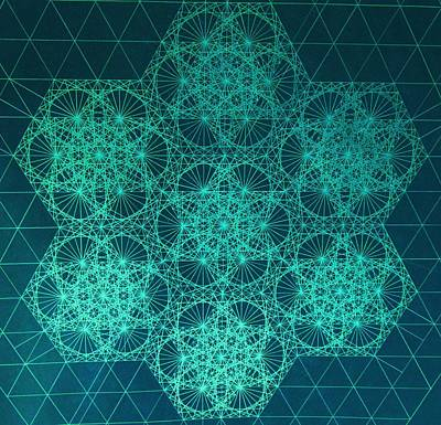 Hexagon Drawings
