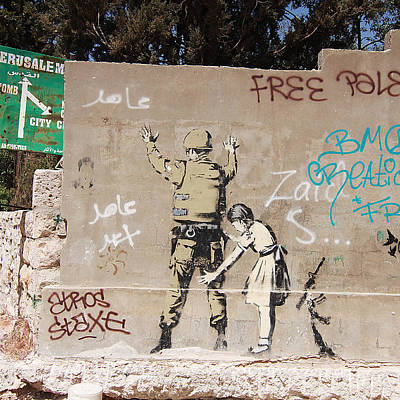 Designs Similar to Banksy In Bethlehem