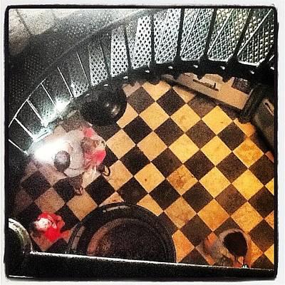 Checkered Pattern Art