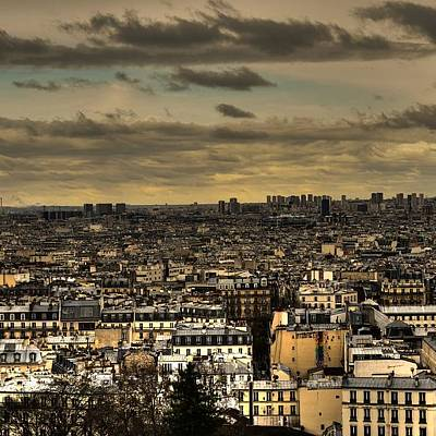 Paris Skyline Wall Art