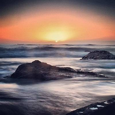 Sunrise Over Ocean Photographs