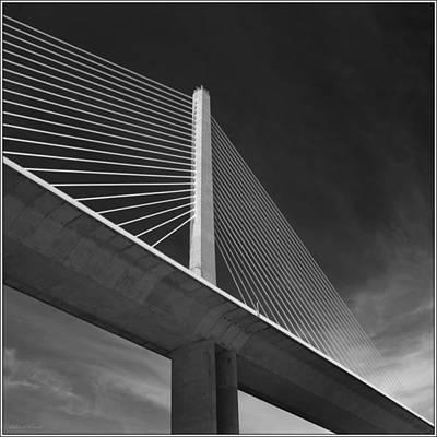 Photograph - Sunshine skyway bridge by Robert Winch