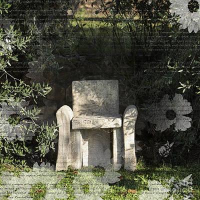 Photograph - Tuscan Seat by Alex Rowbotham