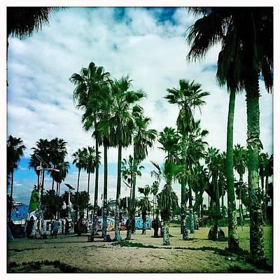 Venice Beach Boardwalk Art Prints
