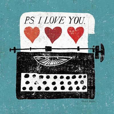Vintage Typewriter Art