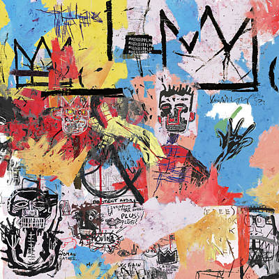 Basquiat Wall Art