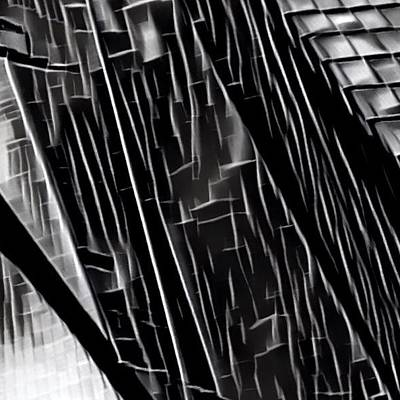 Black And White Digital Art
