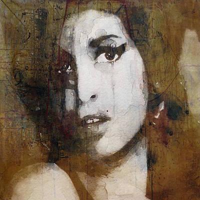 Amy Winehouse Mixed Media