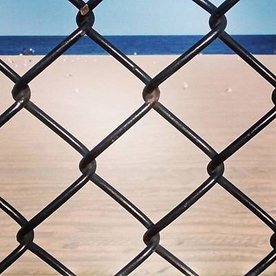 Designs Similar to Chain Fence At The Beach