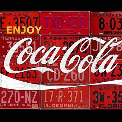 Cocacola Wall Art