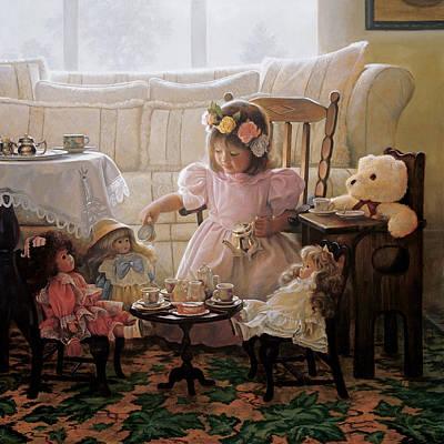Teddy Bear Paintings