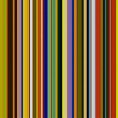Abstract Stripe Patterns Wall Art