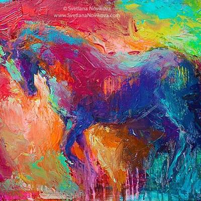 Designs Similar to Expressive Stallion Painting By
