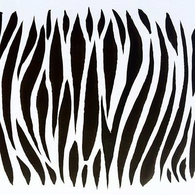 Zebra Pattern Art