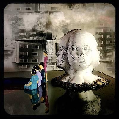 Digital Art - Lilliput in Wasteland by Maxim Tzinman