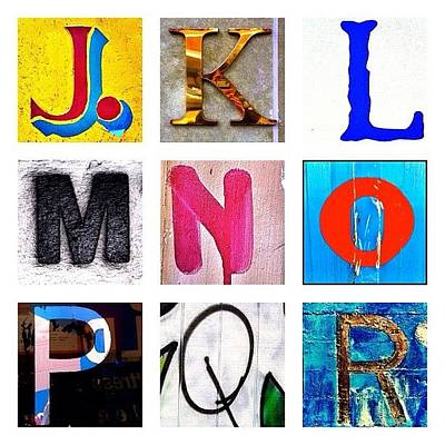Alphabet Letters Photographs