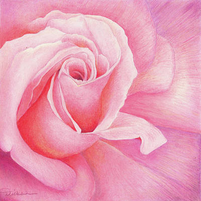 Painting - Pink Passion by Rhonda Dicksion