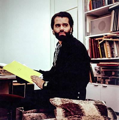 Remembering Karl Lagerfeld Wall Art