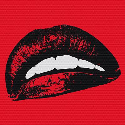 Red Lips Digital Art