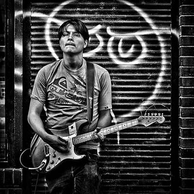 Designs Similar to Rock & Roll. street Musician In