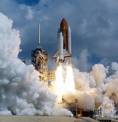 Rocket Launch Art