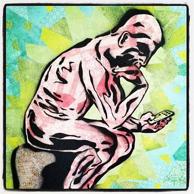 Painting - The Modern Thinker by Blair Barbour
