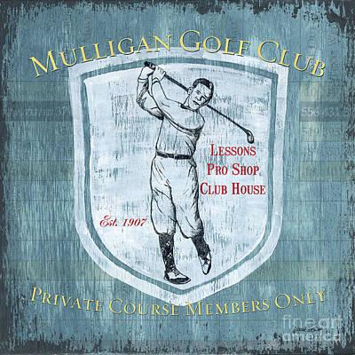 Golf Swing Paintings