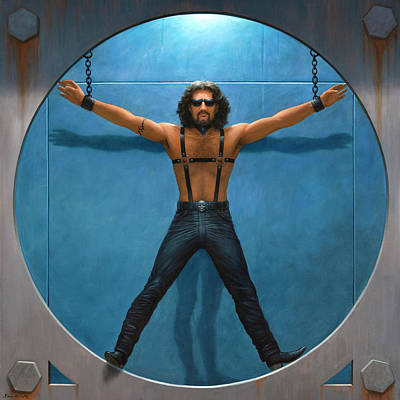 Vitruvian Man Paintings